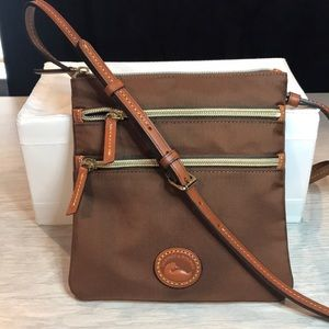 Dooney & Bourke Handbag-North/South Triple Zip